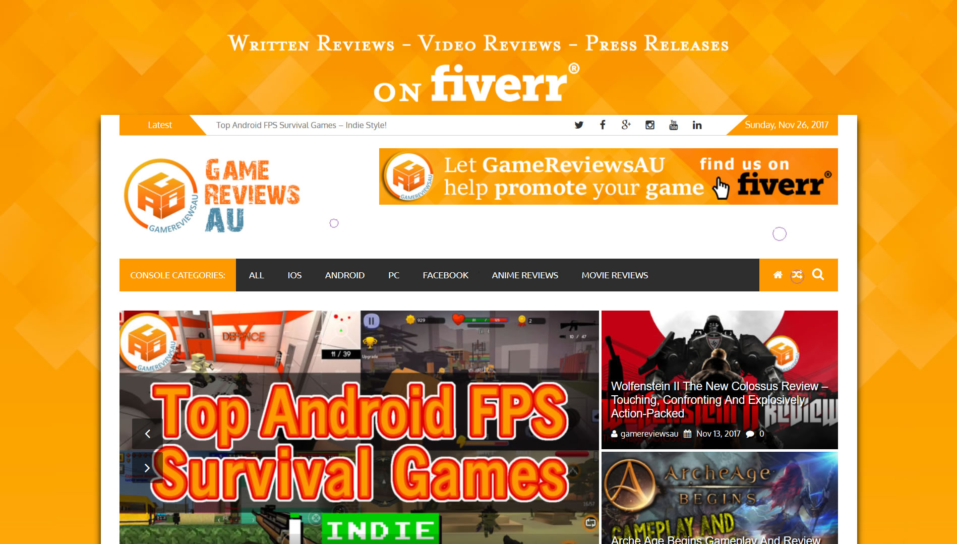 GameReviewsAU
